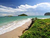 Scenic view of Saint Lucia