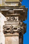 stock photo of pilaster  - Church of St - JPG