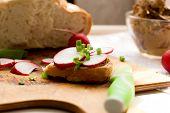 stock photo of liver  - Breakfast - JPG