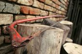 picture of sawing  - an old - JPG