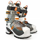 picture of ski boots  - Sports shoes - JPG