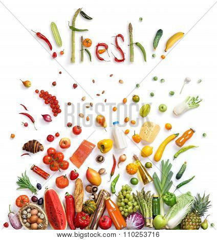 Fresh food choice