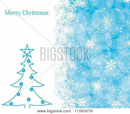 Постер, плакат: Рождественские украшения фона, холст на подрамнике