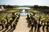The Sprawling Landscape at L'Orangerie in Versailles, France