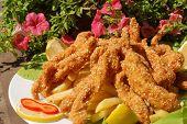 Sesame Chicken Sticks