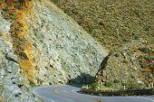 Mountain Road To Anza Borrego Desert (california, Usa)
