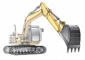 Crawler Excavator_carcass