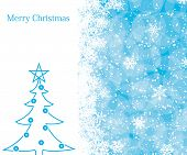image of christmas cards  - Christmas decoration background with space for text - JPG