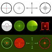 Vector Target Crosshairs