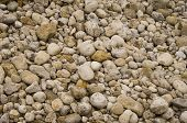 image of fieldstone-wall  - multiple beach stones making a nice pattern - JPG
