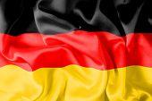 German Flag - Digital Illustration