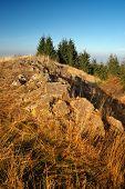 image of banska  - Ridge top Tanad in autumn - JPG