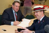NEW ORLEANS, LA - JUNE 16: Former Governor Mike Huckabee at a book signing at the Republican Leaders