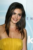 LOS ANGELES - JUN 16:  Phoebe Tonkin arriving at the 2011 Women In Film Crystal + Lucy Awards  at Be