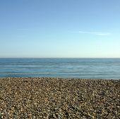 Sea Sky Shingle Beach