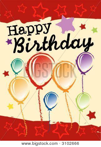 Birthday Greeting Card