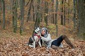 Wild In Soul. Unconditional Love. Siberian Husky Favorite Pet. Animal Husbandry. Girl Pretty Stylish poster
