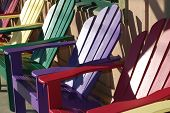 Colorful Fun Chairs