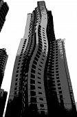 Surreal Building Hong Kong poster