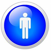 Men Icon Button