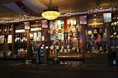 Inside View Of A English Pub