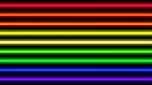 Colorful Neon Light Beam Horizontal For Background, Disco Light Shine Horizontal Geometric, Neon Bea poster