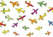 many planes