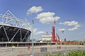 London - May24; London Olympics 2012 Stadium Nears Completion In Stratford London, May 24 2011