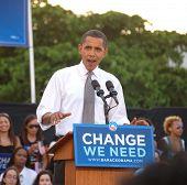 Barack At Bayfront Park Rally