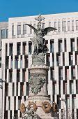 Martyrs Monument At Zaragoza, Spain