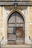 Medieval Old Door