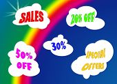 Rainbow Sale