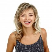 pic of 35 to 40 year olds  - happy smiling woman portrait mid adult - JPG