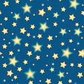 Seamless bacgkround with cartoon stars