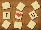 Scrabble letras