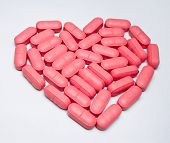 Heart Shaped Pill