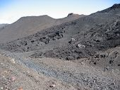 Volcanic Landscape In Reunion Island