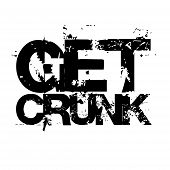 stock photo of slang  - Crunk dancing is popular in the southern US  - JPG