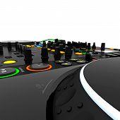Mixer de música