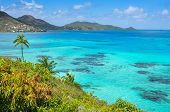 Постер, плакат: Incredible Caribbean Sea View Of Providencia Island Near San Andres In Colombia