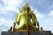 Buddha Statue in Temple,Thailand