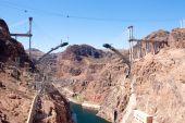 Bridge Construction At Hoover Dam