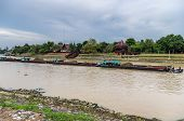 Tug Boat Towing Barges in Thailand