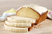 Loaf Cake With Cream Cheese Icing