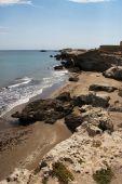Playa rocosa
