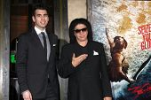 LOS ANGELES - MAR 4:  Nick Simmons, Gene Simmons at the
