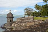 picture of el morro castle  - el morro fortress and park - JPG