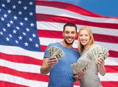 stock photo of lottery winners  - finance - JPG