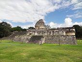 El Caracol Observatory Temple In Chichen Itza