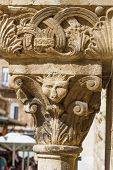 Stone Carving Column .
